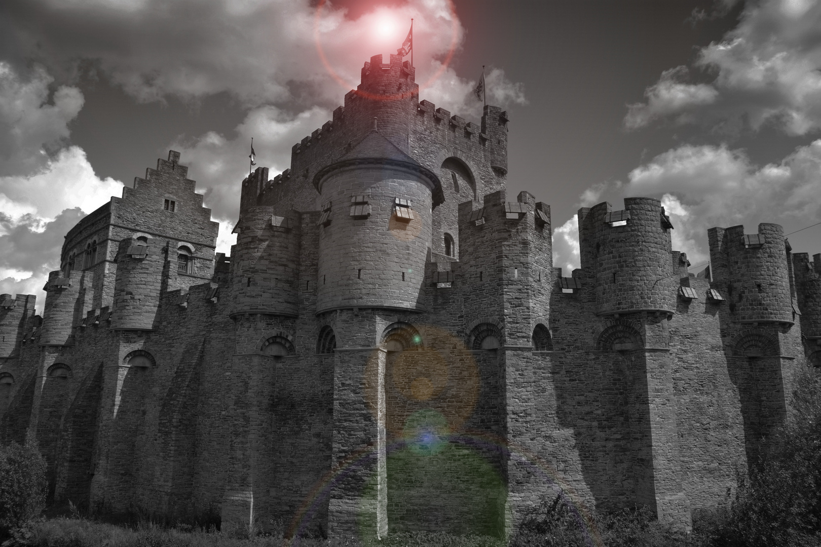 Genter Schloss in Belgien