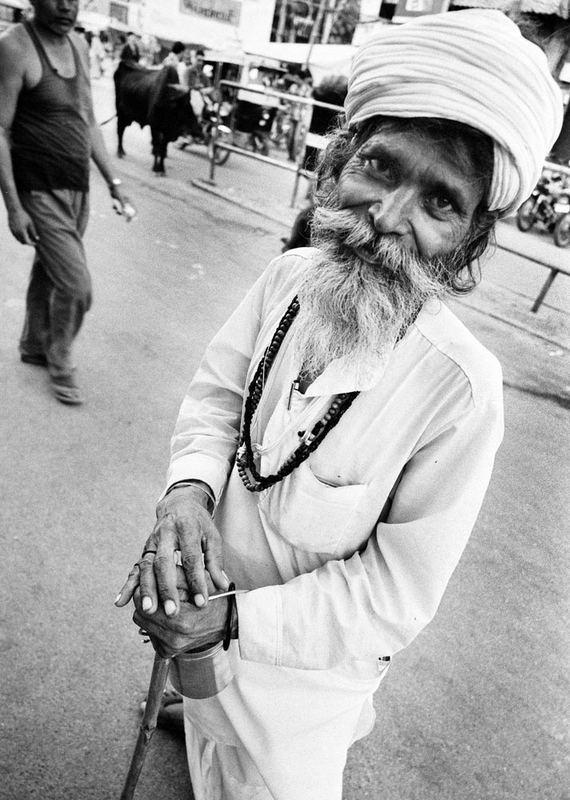 Gentleman sadhu