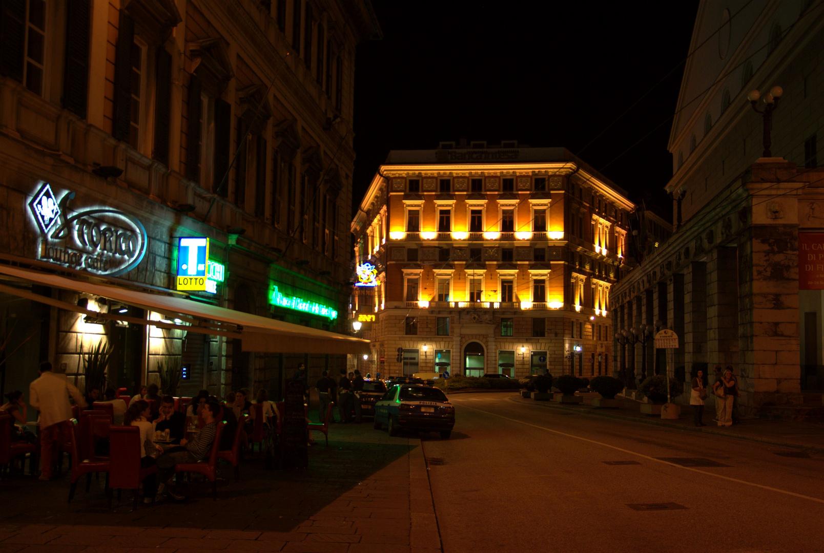 Genua bei Nacht II