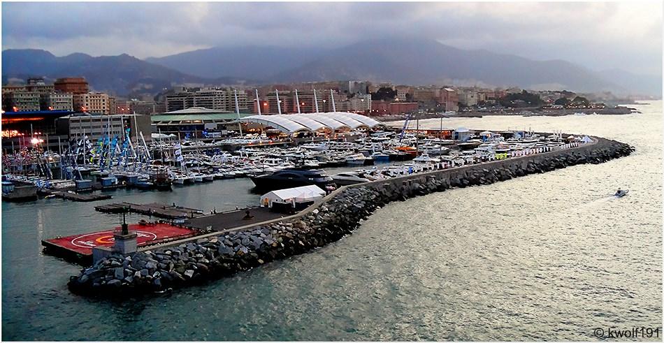 Genua - Yachthafen