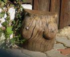 genügend Holz vor der Hütte
