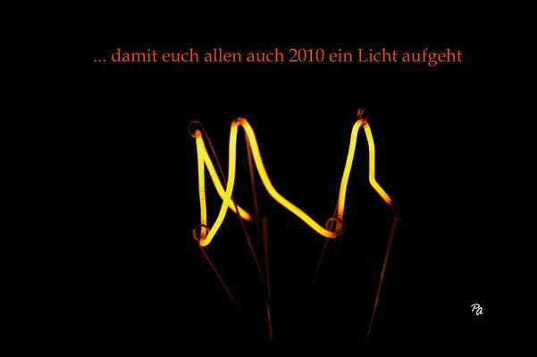 ...genügend Licht für alle