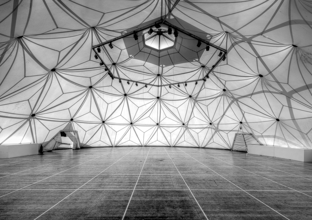 Geodätische Kuppel geodätische kuppel foto bild architektur innenaufnahmen