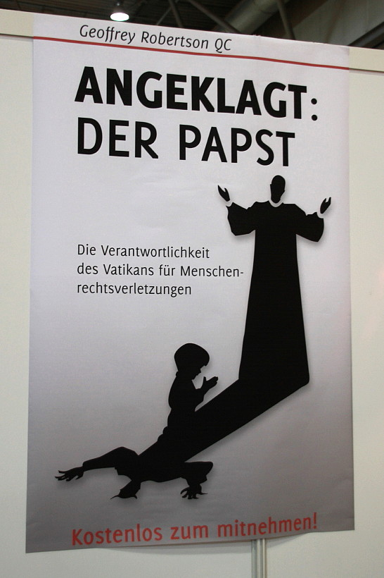 Geoffrey Robertson QC @ Buchmesse Leipzig 2013