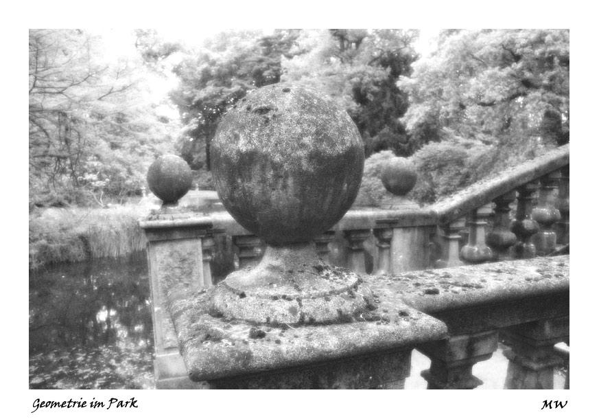 Geometrie im Schloßpark