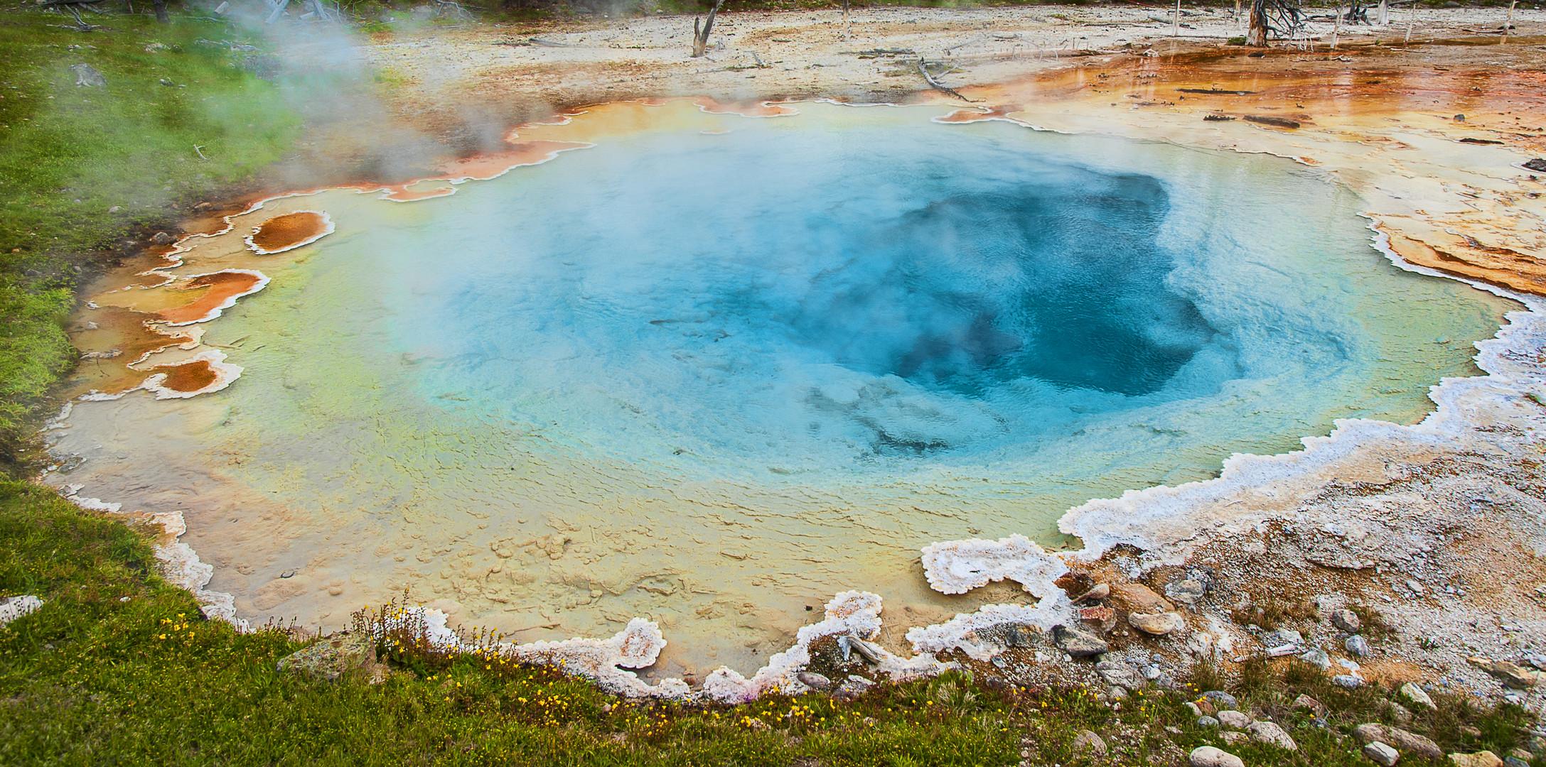 Geothermal Hot Spring - No Swimming