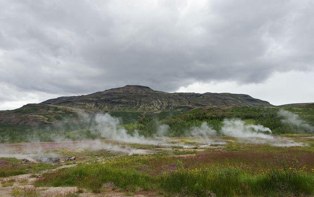 Geothermalregion Haukadalur