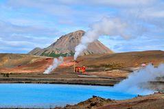 Geothermie in Island/ Myvatn-Region