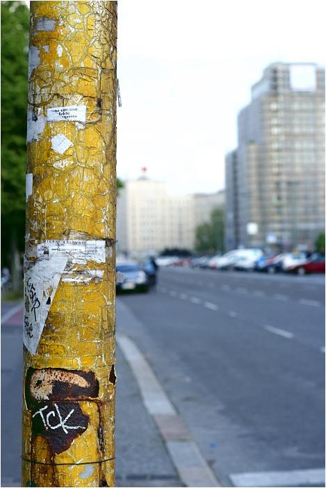 Gepflegte Berliner Ampel