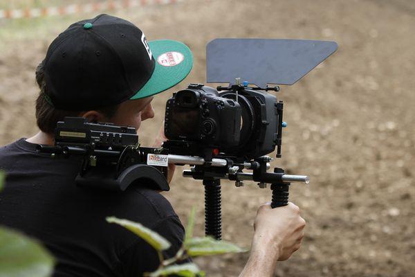 gepimpte 60er für Video-Action (gesehen beim Motocross in Kamp-Lintfort)