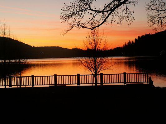 Gérardmer, le lac..
