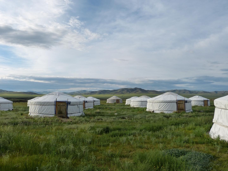 Gercamp in der Mongolei