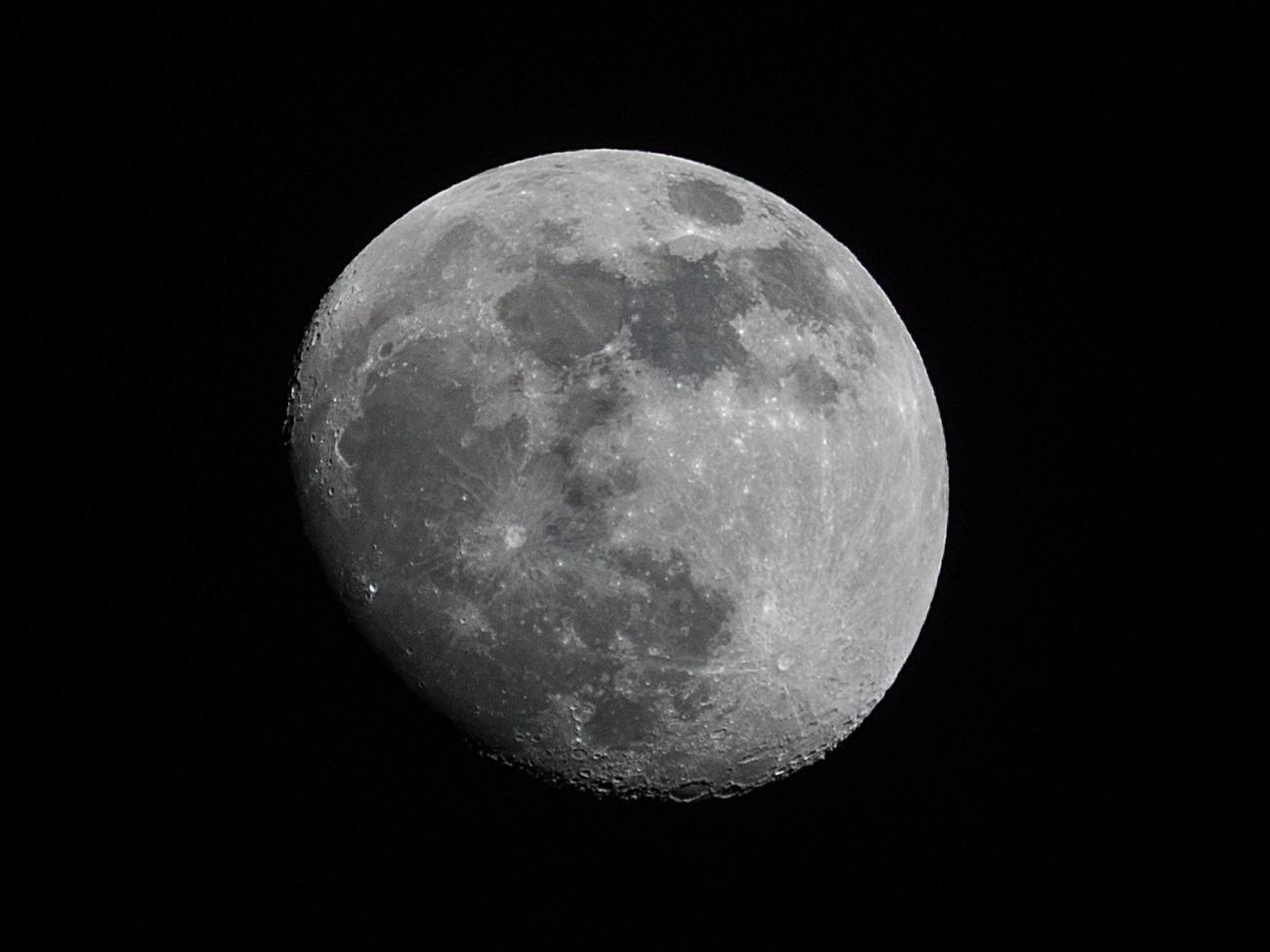 Gerhard Rausch: Mondausschnitt