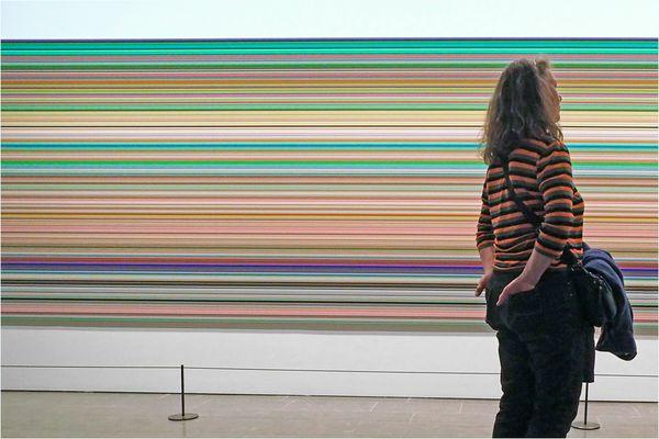 Gerhard Richter mit unbekannter Frau