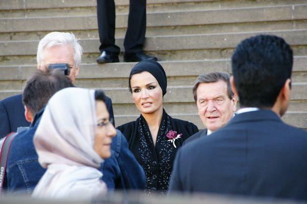 Gerhard Schröder tifft Anna Netrebko