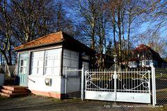 Gerhart Hauptmann Haus mit neuem Tor