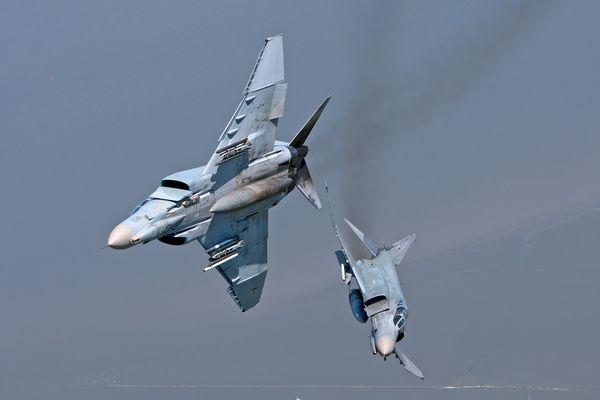 German Air Force - Phantoms - Opposite Break