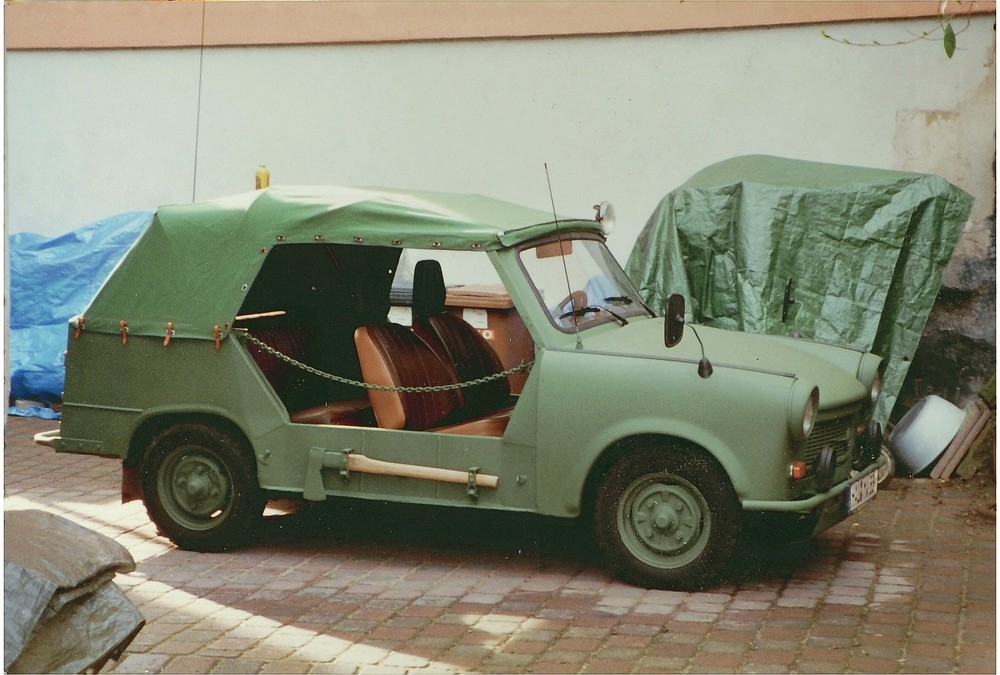German Military Car from G.D.R,Trabant  P 601-A.