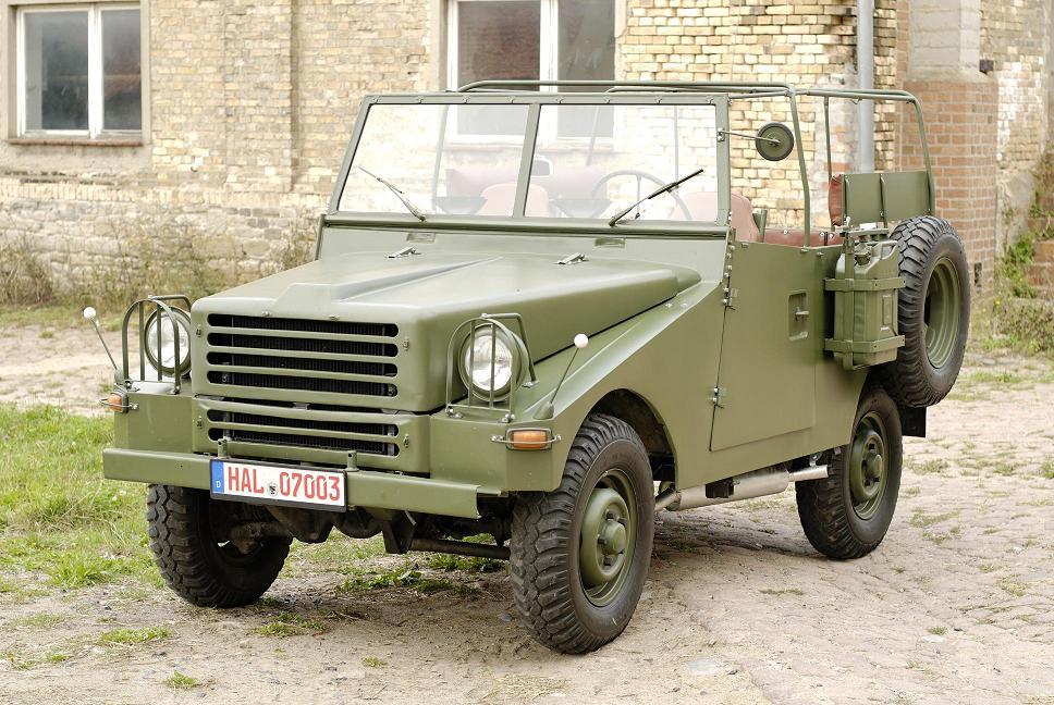 German Military Car P3-Sachsenring.Year of Construction 1962.