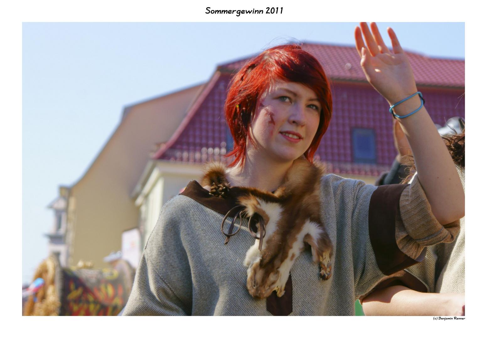 Germanin beim Sommergewinn 2011