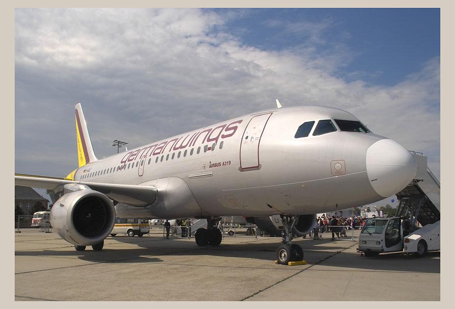 Germanwings A319 - Flughafenfest in Berlin-Schönefeld