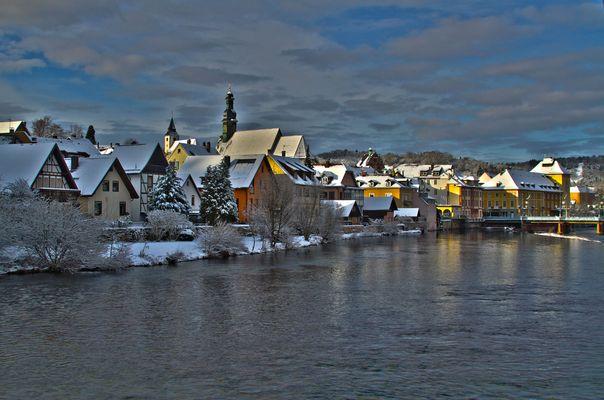 Gernsbach im Winter