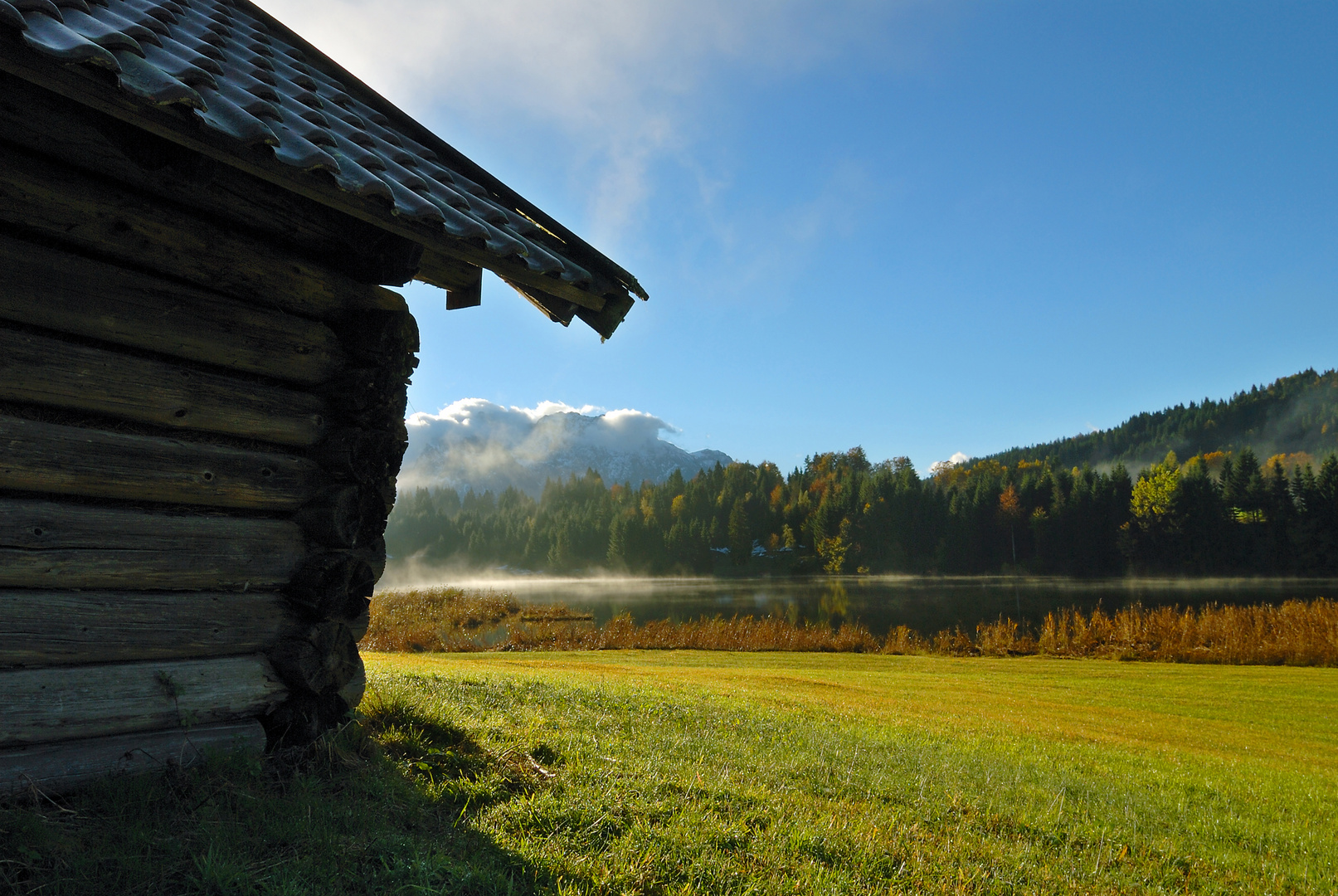 Geroldsee und Karwendel