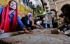 Gerusalemme - Pietra del Santo Sepolcro