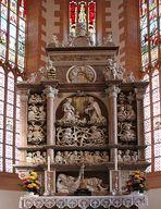 Gesamtbild des Hauptaltares in der Annenkirche Annaberg- Buchholz