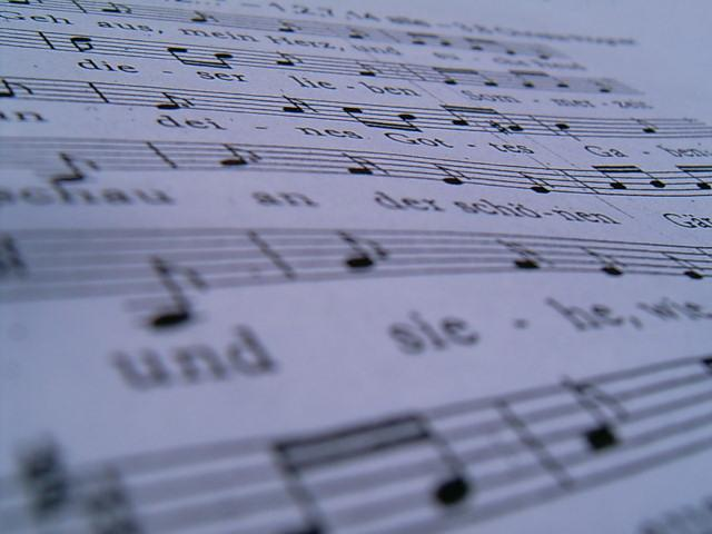 Gesangsheft