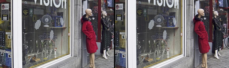 Geschäfte in Maastricht (3D)