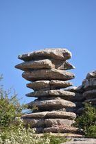 Geschichtet - Bizarre Felsen im El Torcal Gebirge
