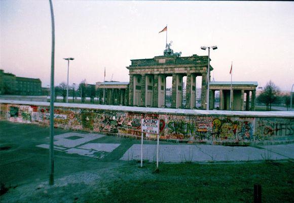 Geschlossenes Brandenburger Tor