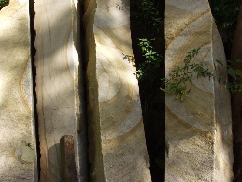 geschnittene Steinquader