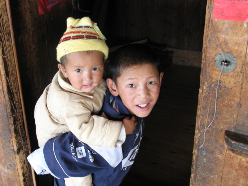 Geschwister Tibet 2