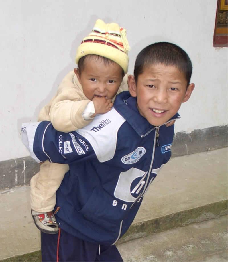 Geschwister Tibet