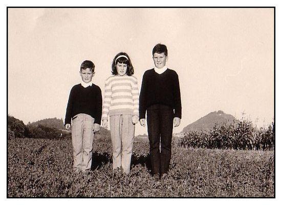 Geschwister...damals 1965