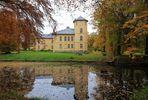 "Gesehen aus dem Landschaftspark - ""Schloss"" Kölzow"
