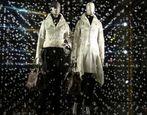 Gesehen bei Louis Vuitton: gläsernes Gestöber