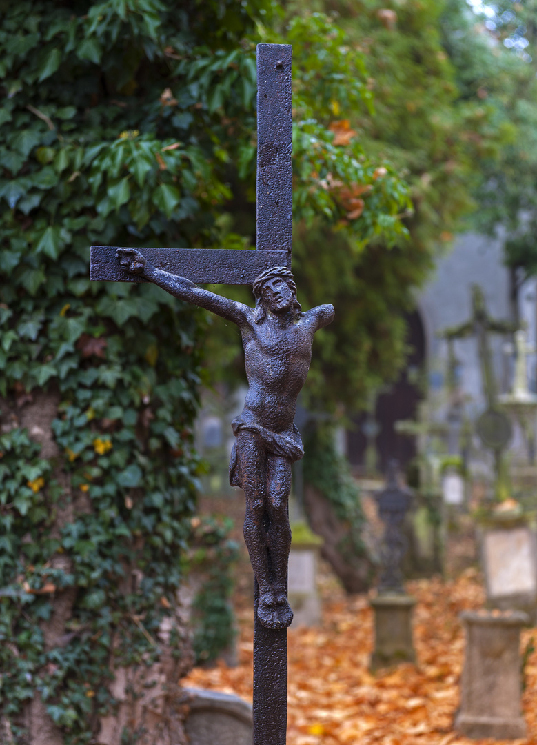 Gesehen im ältesten Friedhof Deutschlands