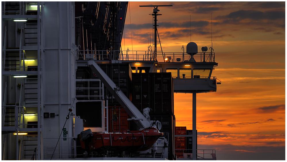 Gesehen im Hamburger Hafen...