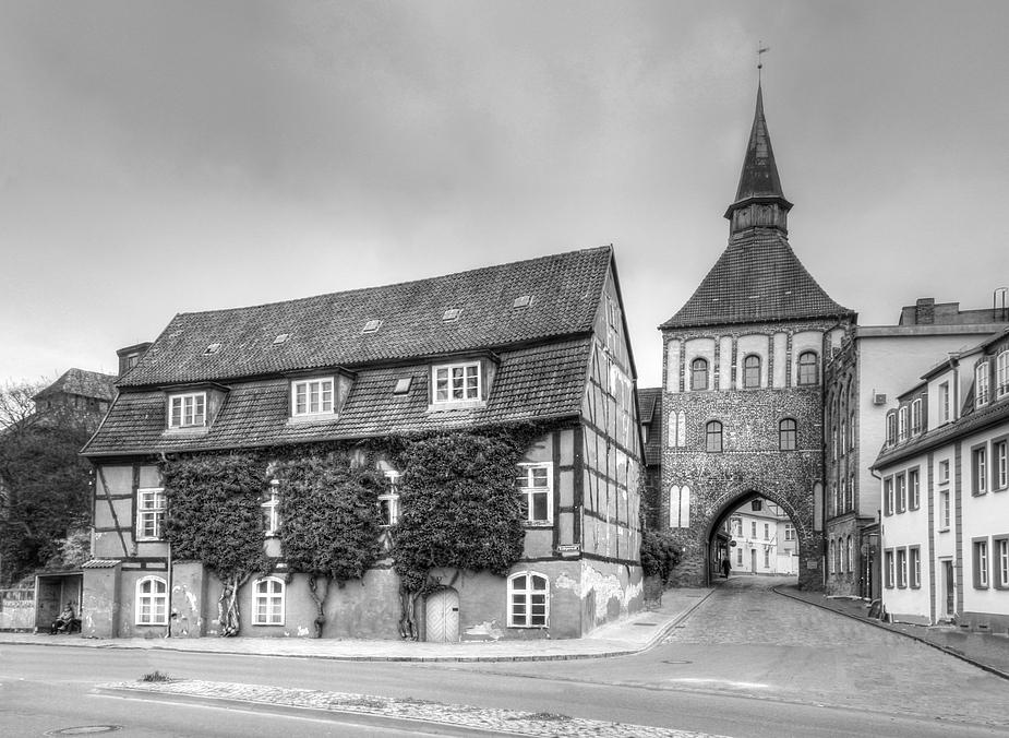 Gesehen in Stralsund - Kütertor feldseitig