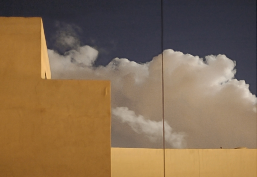 Gesehen: Kran-Seil beherrscht den Goldenen Schnitt (Malta)