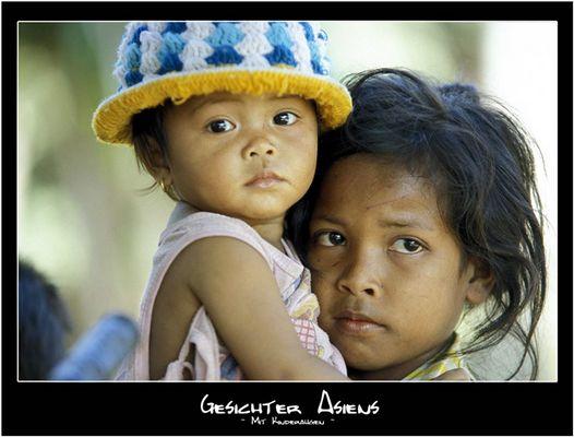 Gesichter Asiens - Mit Kinderaugen