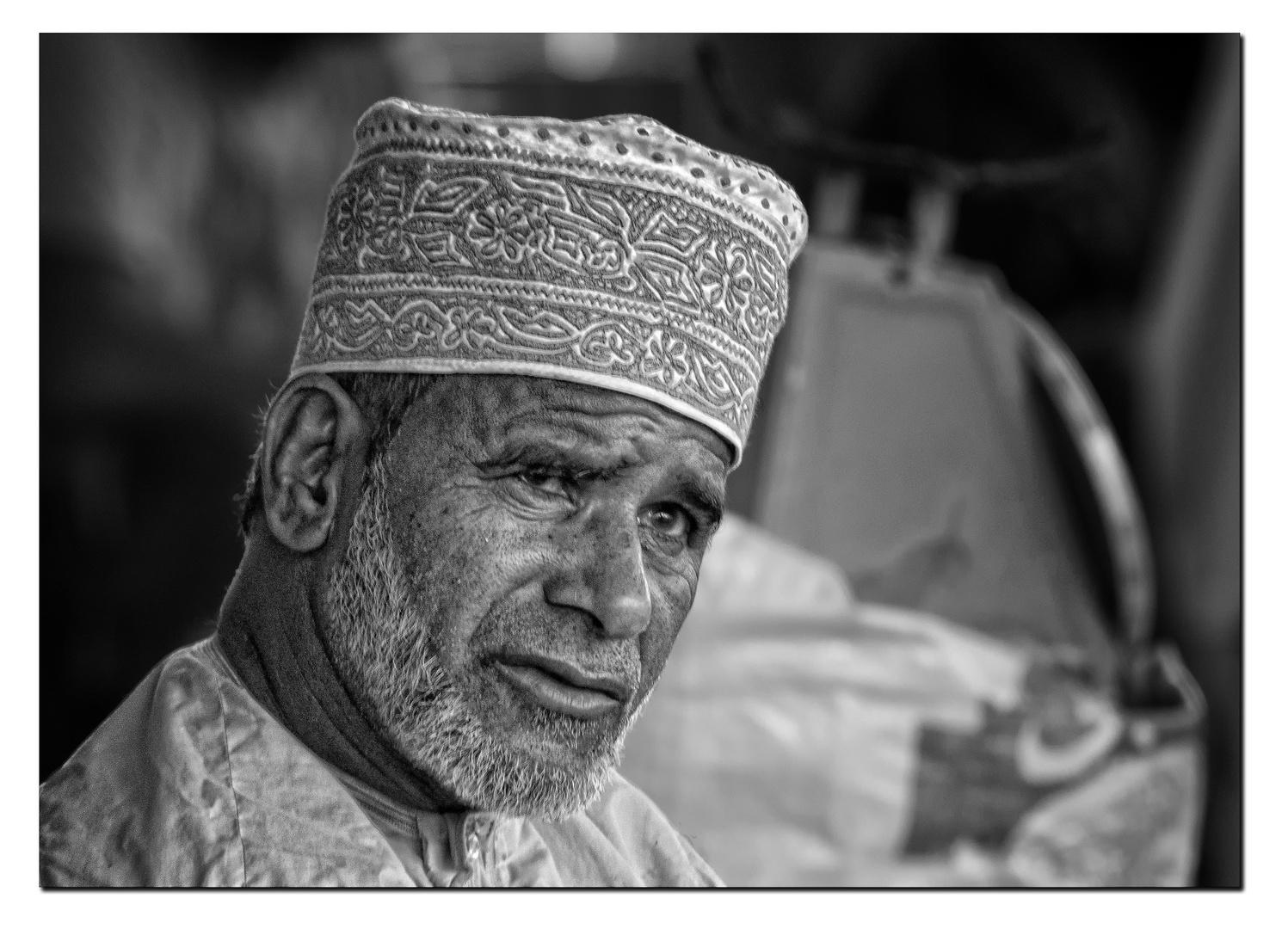 Gesichter des Omans