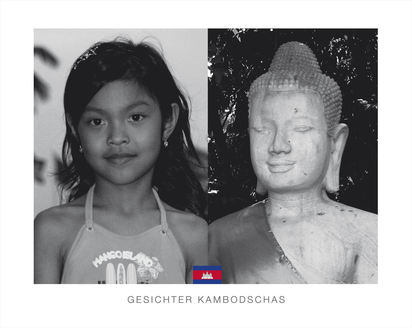 Gesichter Kambodschas