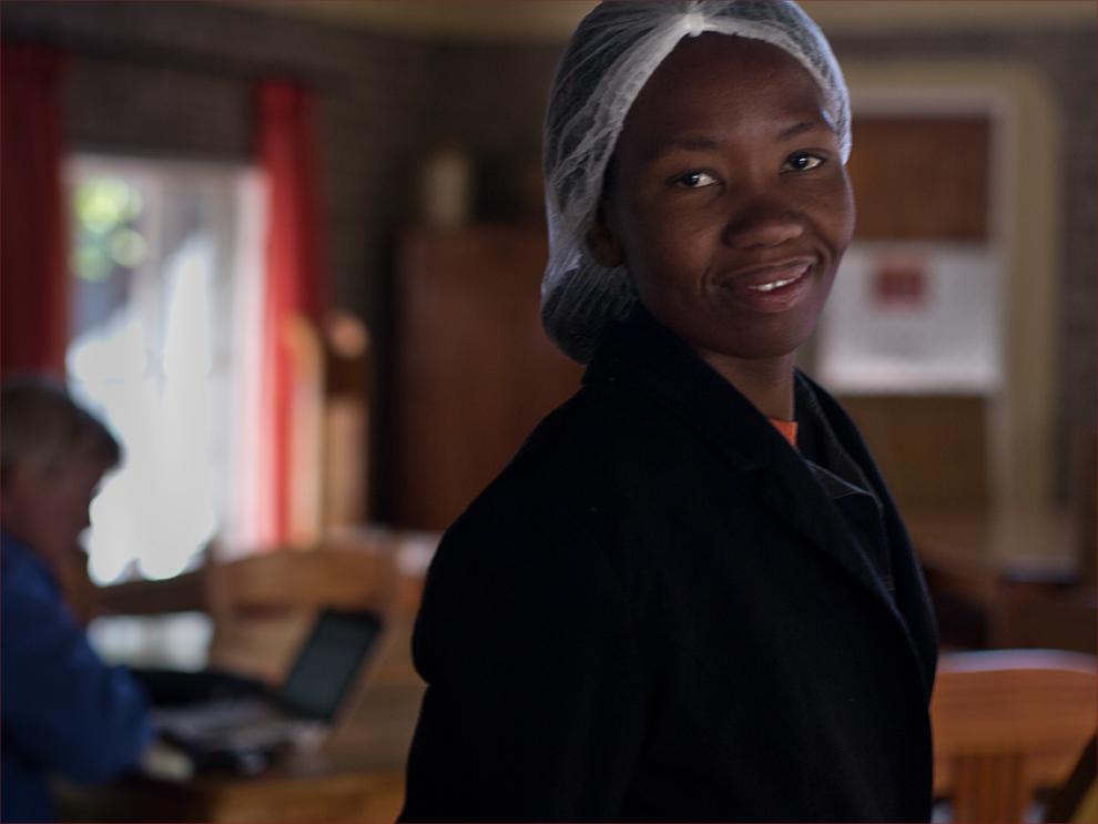 Gesichter Namibias: Die Frühstücksfee