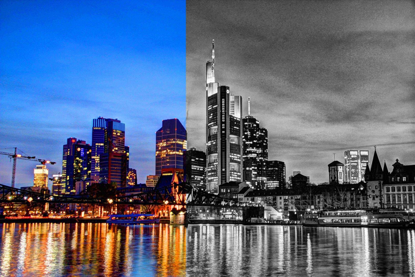 gespaltene Stadt