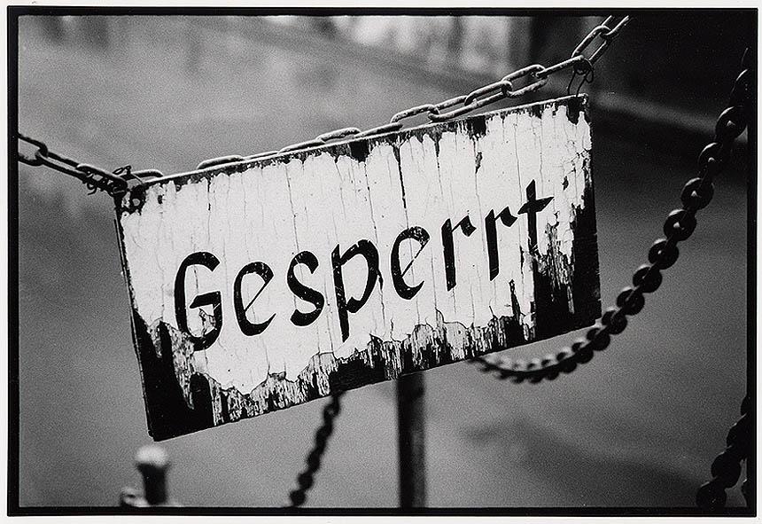 Gesperrt !