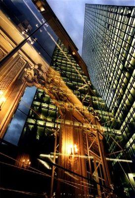 gespiegelte Bauten